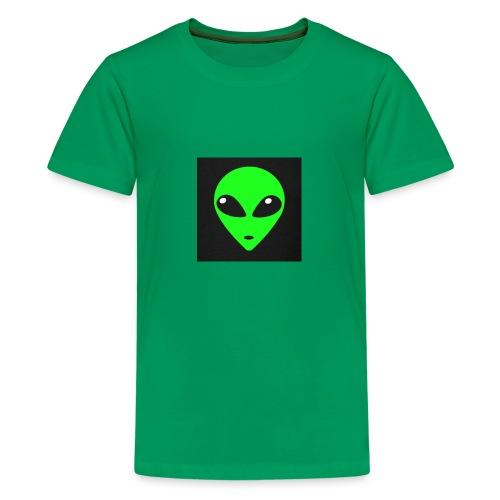 Green Gang - Premium-T-shirt tonåring