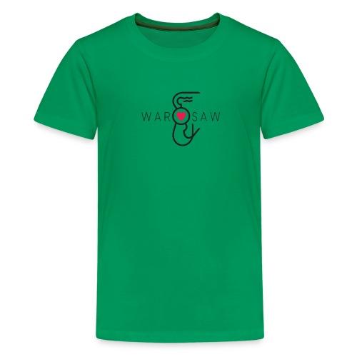 Warszawska Syrenka - Koszulka młodzieżowa Premium