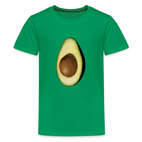 Real Photo Trendy AVOCADO vertical - Teenager Premium T-Shirt