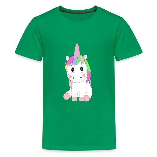 Magic Baby Unicorn - Teenager Premium T-Shirt