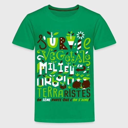 Green Guerilla - T-shirt Premium Ado