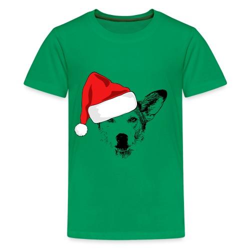 Weihnachten Podenco-Mix Hund Geschenk Podimix - Teenager Premium T-Shirt