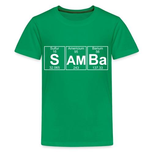 S-Am-Ba (samba) - Full - Teenage Premium T-Shirt