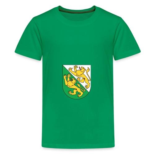 Wappen Thurgau matt svg 1 png - Teenager Premium T-Shirt