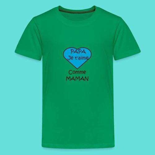 JTM PAPA - T-shirt Premium Ado