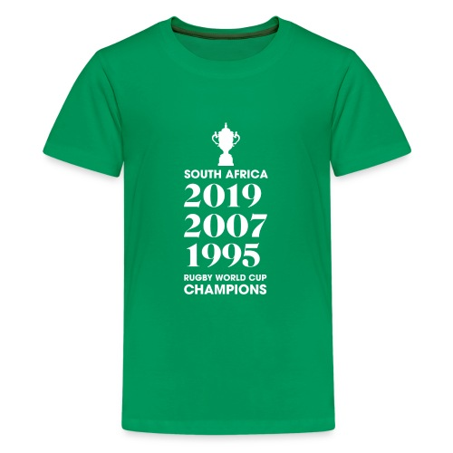 South Africa Rugby World Cup Champions - Teenage Premium T-Shirt