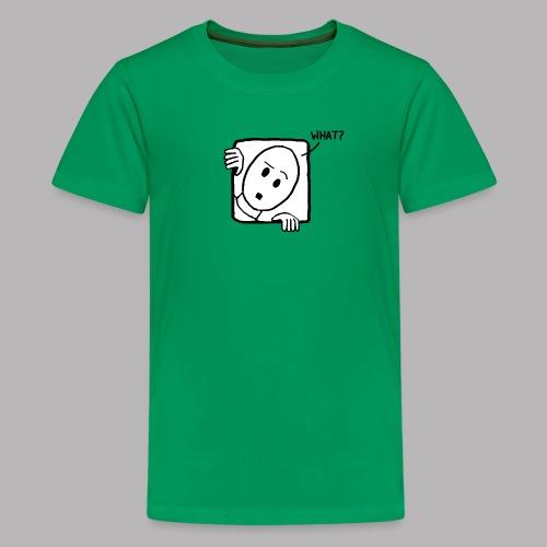 What? - Teenage Premium T-Shirt