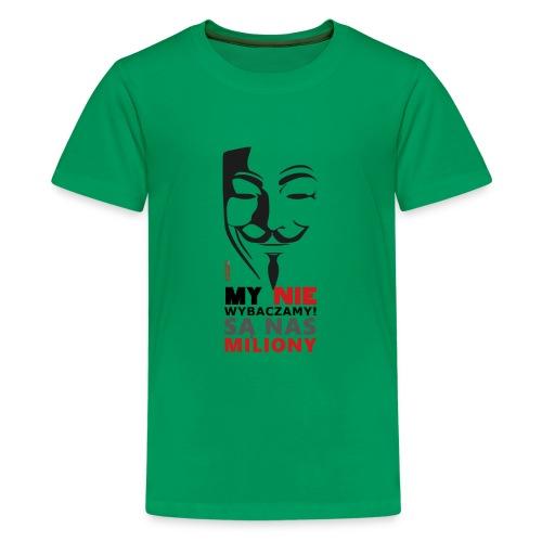 Są Nas MILIONY - kolejny motyw Akademia Wywiadu™ - Koszulka młodzieżowa Premium