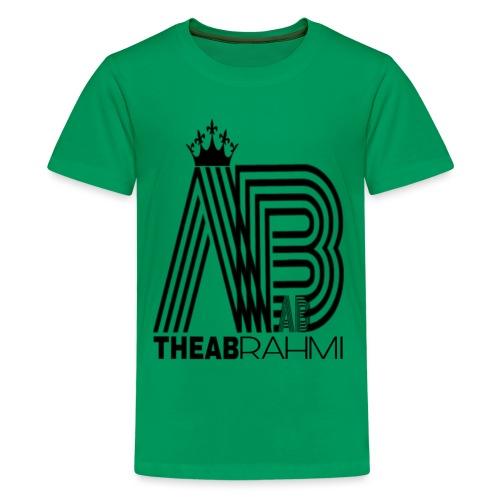 THEABRAHMI BLACK - T-shirt Premium Ado