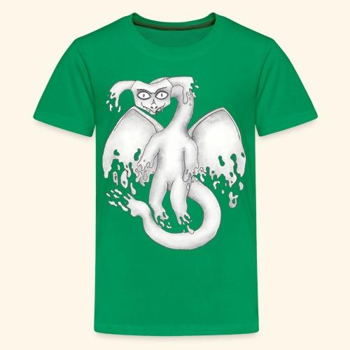 Spökdrake - Premium-T-shirt tonåring