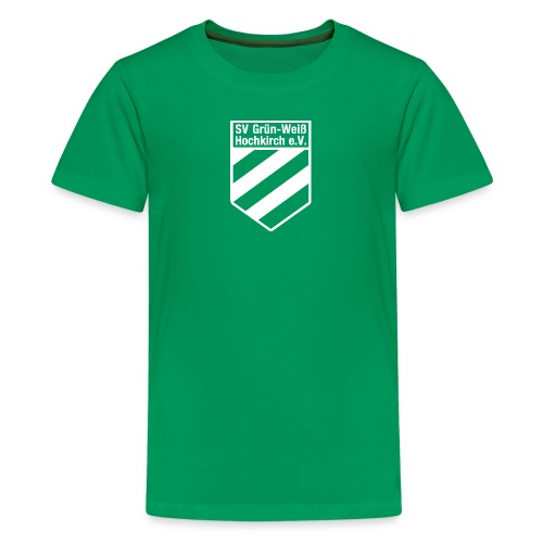 Logo_als_Gif_Weiß - Teenager Premium T-Shirt