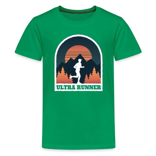 Ultralauf Ultra Runner Geschenk für Ultraläufer - Teenager Premium T-Shirt