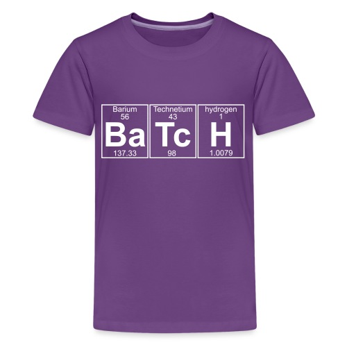 Ba-Tc-H (batch) - Full - Teenage Premium T-Shirt