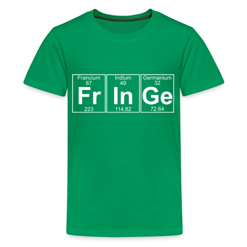 Fr-In-Ge (fringe) - Full - Teenage Premium T-Shirt