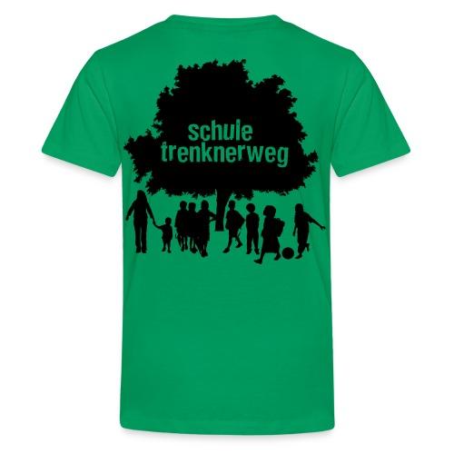 logo trenknerweg sw 2 - Teenager Premium T-Shirt