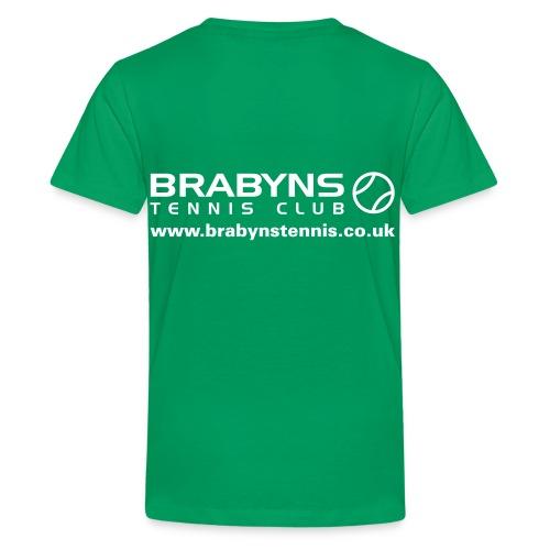 brabyns t shirt - Teenage Premium T-Shirt