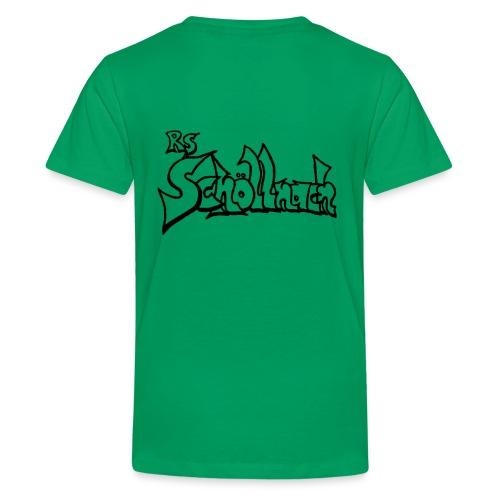logo_schwarz - Teenager Premium T-Shirt