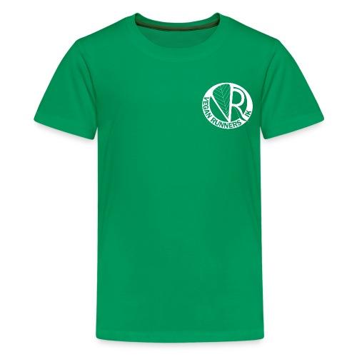 VeganRunners Logga gif - Premium-T-shirt tonåring