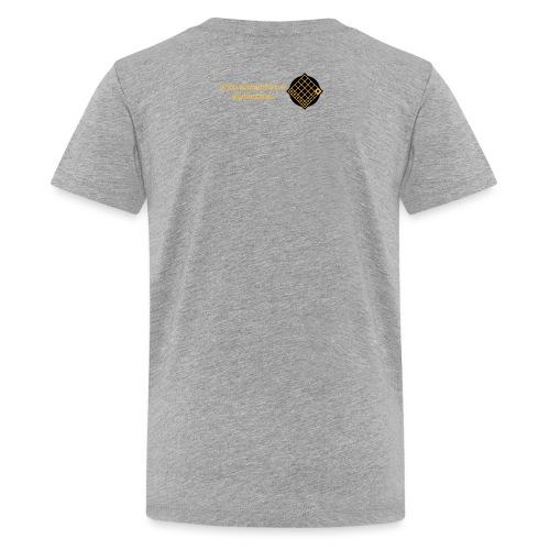 TIAN GREEN Welt Mosaik Shirt - Logo 2020 - Teenager Premium T-Shirt