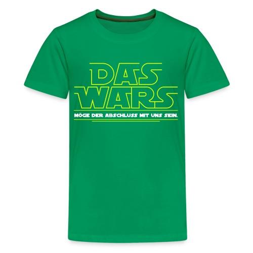 Das wars vorn-1 - Teenager Premium T-Shirt