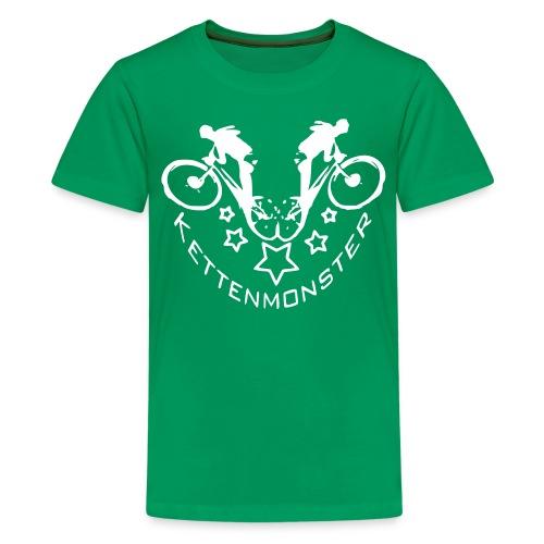 Kettenmonster Biker - Teenager Premium T-Shirt