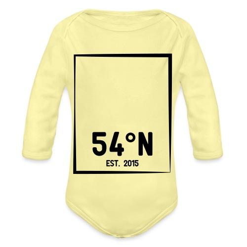 54°Nord square College Jacket - Langærmet babybody, økologisk bomuld