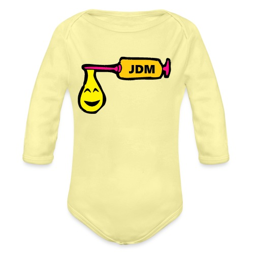 JDM ADDICTION - Organic Longsleeve Baby Bodysuit