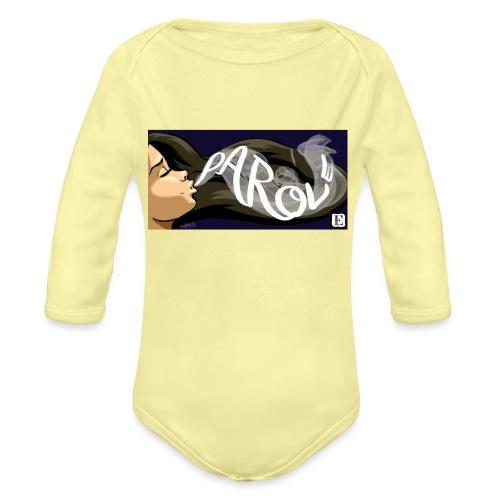 Parole - Body ecologico per neonato a manica lunga