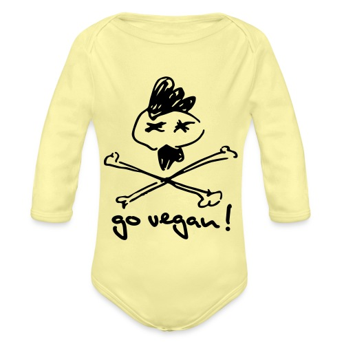 govegan01_225x225 - Baby Bio-Langarm-Body