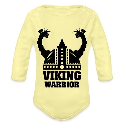 Viking Warrior - Lady Warrior - Vauvan pitkähihainen luomu-body