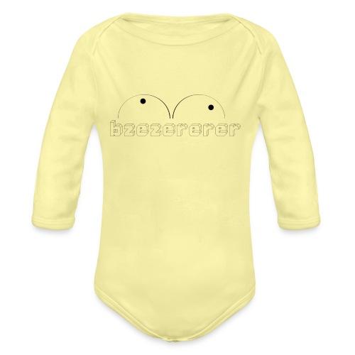 PCLP3 - Body Bébé bio manches longues