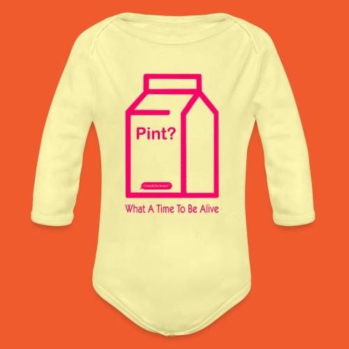 Nellie - Organic Longsleeve Baby Bodysuit