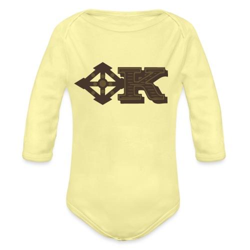 Kenya Airways Logo - Organic Longsleeve Baby Bodysuit