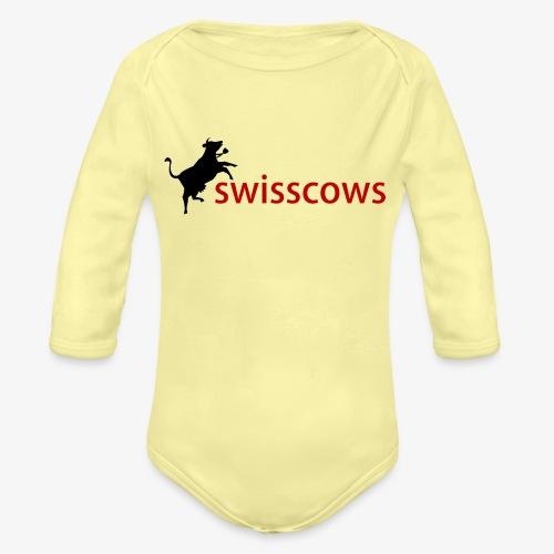 Swisscows - Baby Bio-Langarm-Body