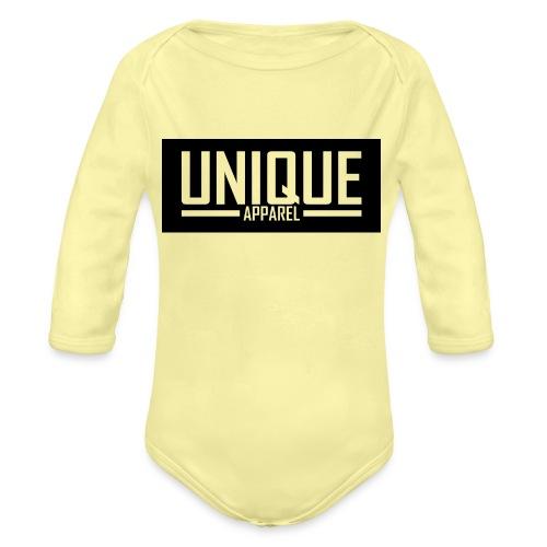 unique - Baby Bio-Langarm-Body