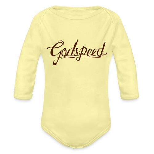 Godspeed 2 - Vauvan pitkähihainen luomu-body