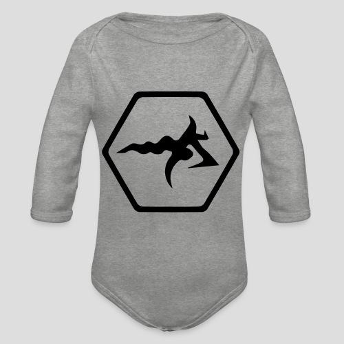 AmericanBilly - Body ecologico per neonato a manica lunga