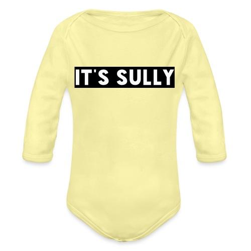 ITS SULLY - Organic Longsleeve Baby Bodysuit