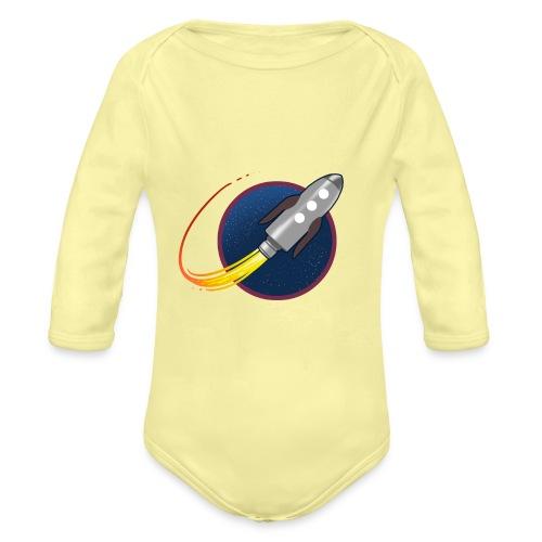 GP Rocket - Organic Longsleeve Baby Bodysuit