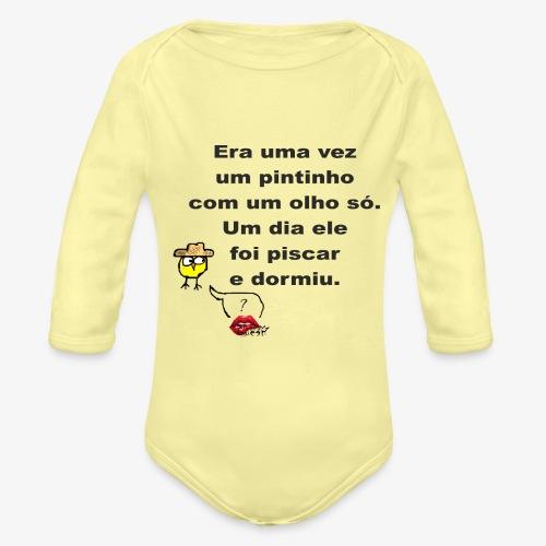 Era uma vez... - Organic Longsleeve Baby Bodysuit
