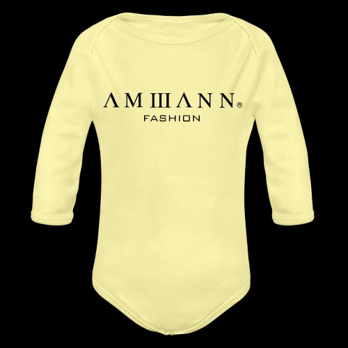 AMMANN Fashion - Baby Bio-Langarm-Body