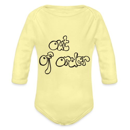 out of order - Baby Bio-Langarm-Body
