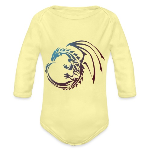 color Dragon - Organic Longsleeve Baby Bodysuit