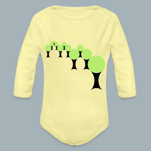 Golden Rule Premium T-shirt - Baby bio-rompertje met lange mouwen