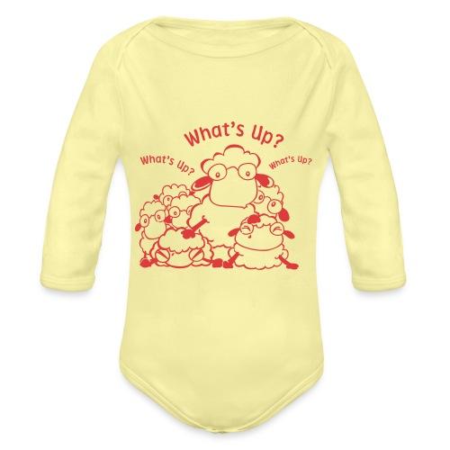 yendasheeps - Baby bio-rompertje met lange mouwen