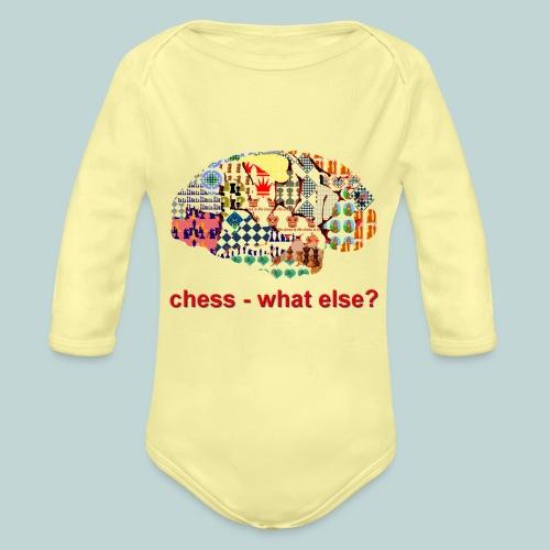 chess_what_else - Baby Bio-Langarm-Body