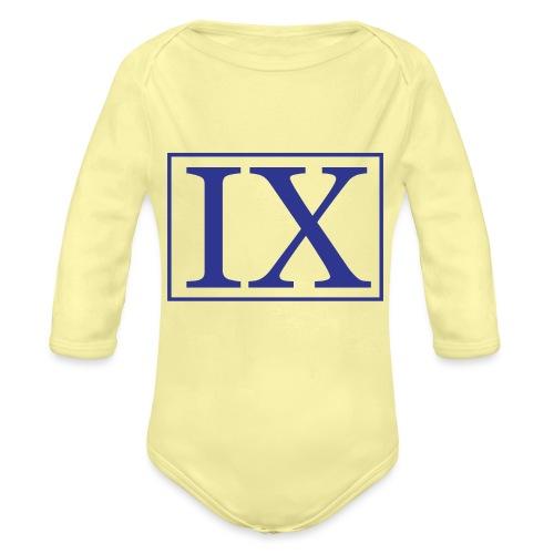 Thiximo Logo - Baby bio-rompertje met lange mouwen