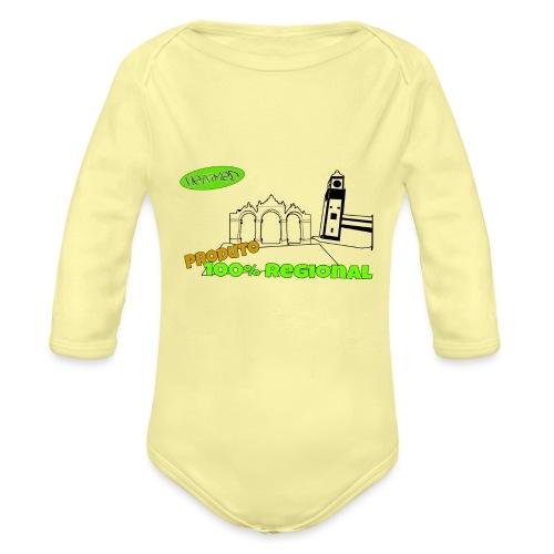 City Gates - Organic Longsleeve Baby Bodysuit
