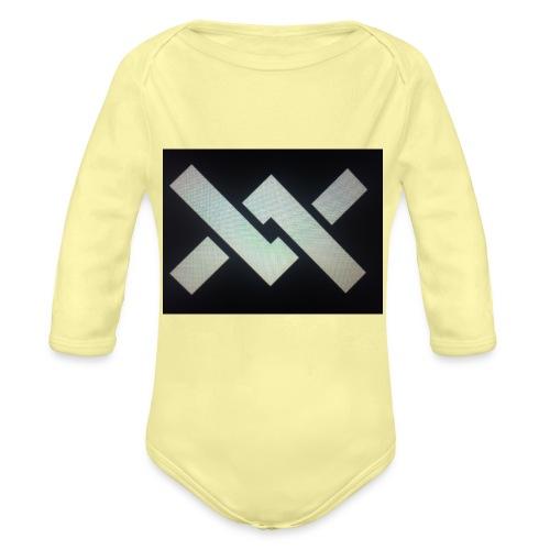 Original Movement Mens black t-shirt - Organic Longsleeve Baby Bodysuit