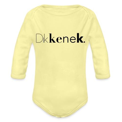 dikkenek - Body Bébé bio manches longues